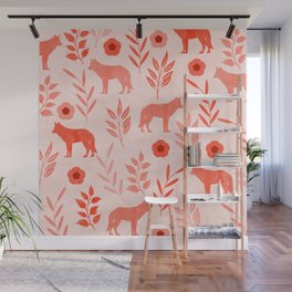 Forest Animal and Nature II Wall Mural