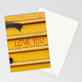 Love You, New York Stationery Cards