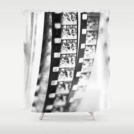 film BW Shower Curtain