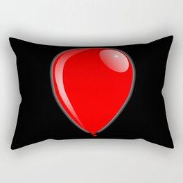 Red Balloon Rectangular Pillow