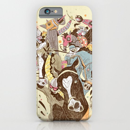 The Great Horse Race! iPhone & iPod Case