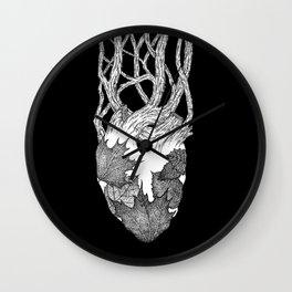 Autumn Heart II Wall Clock