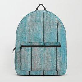 Blue Slats Backpack
