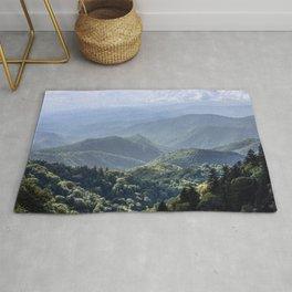 Smoky Mountain Sunsets - Wanderlust Nature Photography Rug