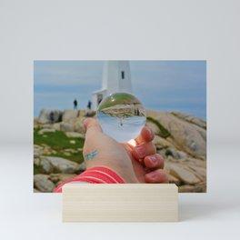 Peggy's Cove LightHouse Mini Art Print