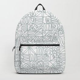 Be square. Be Serene. Be present. Backpack