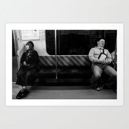 Chiba - Japan 08:34 pm Art Print