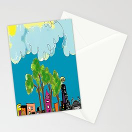 JL The City View Stationery Cards
