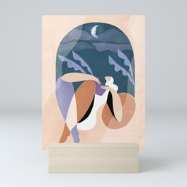 Neither wind nor rain could quench your light Mini Art Print