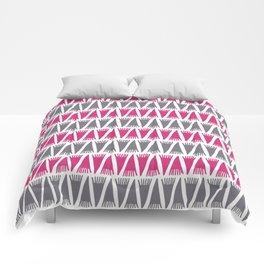 Tee Pee Pink Yarrow Comforters