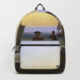 Caspar David Friedrich - The life stages.jpg Backpack