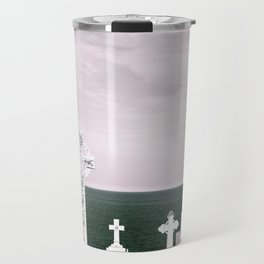 A place to rest by the ocean Travel Mug