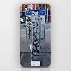Phone Booths Have Seen Better Days iPhone & iPod Skin
