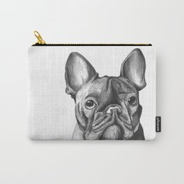 French Bulldog Drawing Carry-All Pouch