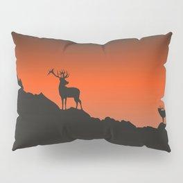 Deer Calling Pillow Sham