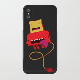 Toast made me do it iPhone Case