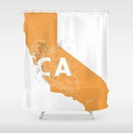 CA Splash Shower Curtain