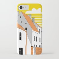 medieval iPhone & iPod Cases featuring Medieval houses by LaDa