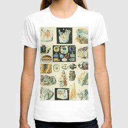 Vintage Minerals Chart T-shirt