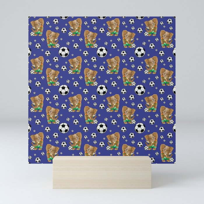 SOCCER STARS Mini Art Print