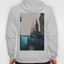 City under water Hoody