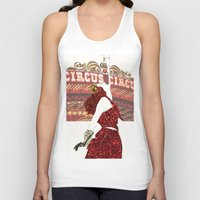 ruby Tank Tops featuring Ruby by Kats Illustration