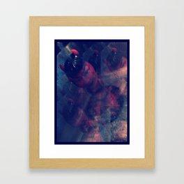 LUCI/DEVIL DOLL Framed Art Print