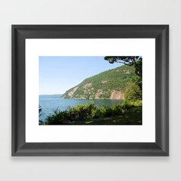 Roger's Rock on Lake George, NY Framed Art Print