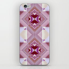 Modern geometric pattern design iPhone Skin