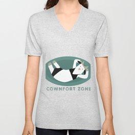 Cownfort Zone  Unisex V-Neck