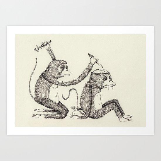 'Surgeon' Art Print