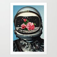 spring Art Prints featuring Spring Crop at the Rosseland Crater by Eugenia Loli