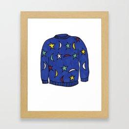 Season 1, Episode6 (full sweater) Framed Art Print
