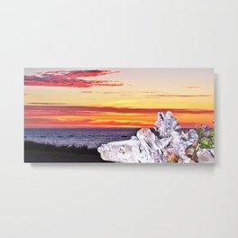 Decorative Sunset Metal Print