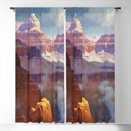 Temple of the Indian Gods (Grand Canyon) by William R. Leigh Blackout Curtain