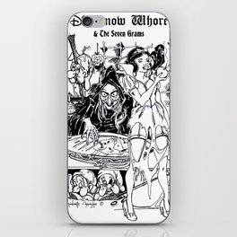 Dis Snow Whore & The Seven Grams (Snow White) iPhone Skin
