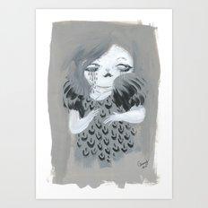 Knits Art Print