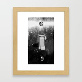 Beauty From the Ashes:  Lights Out Framed Art Print