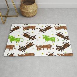 Cow Pattern | Cow Spots Farm Farmer Animal Milk Rug