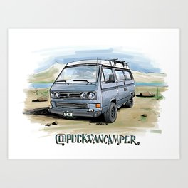 @puckvancamper Art Print