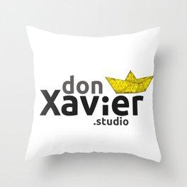 donXavier.studio Throw Pillow