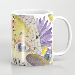Fish ? Bird ? Weird creature for sure ! Coffee Mug