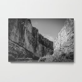 Santa Elena Canyon, Big Bend National Park Metal Print