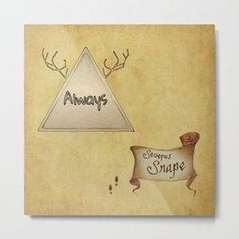 """Always"" - Severus Snape Metal Print"