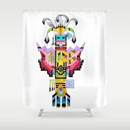 Kachina Butterfly 6 Shower Curtain