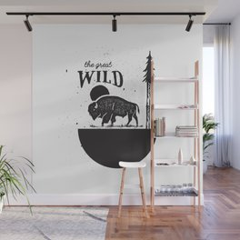The Great Wild Wall Mural