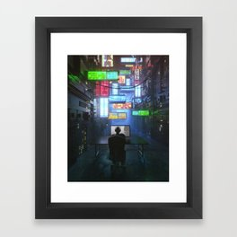 FOCUS (everyday 04.30.17) Framed Art Print