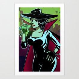 Cybersix Art Print