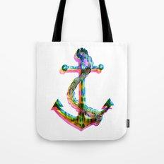 CMYK Anchor Tote Bag