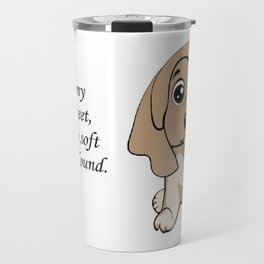 Love my Afghan Hound Travel Mug